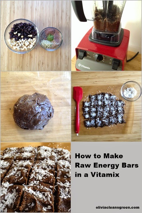 Olivia cleans green how to make raw energy bars in a vitamix vegan and health coach trained at the institute for integrative nutrition shes also author of baking soda bliss the healthy happy guide to green forumfinder Choice Image