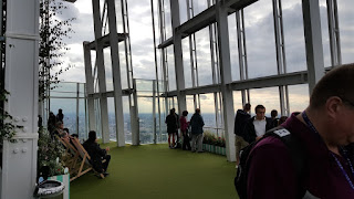 The Open Air Roof Garden at The Shard London