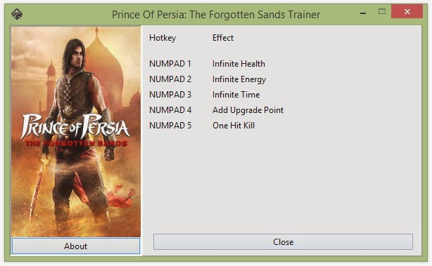 prince of persia warrior within trainer free download for pc