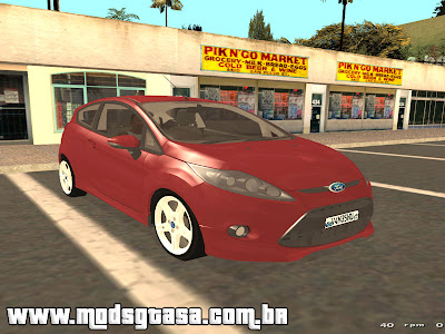 Ford New Fiesta 2011 para GTA San Andreas