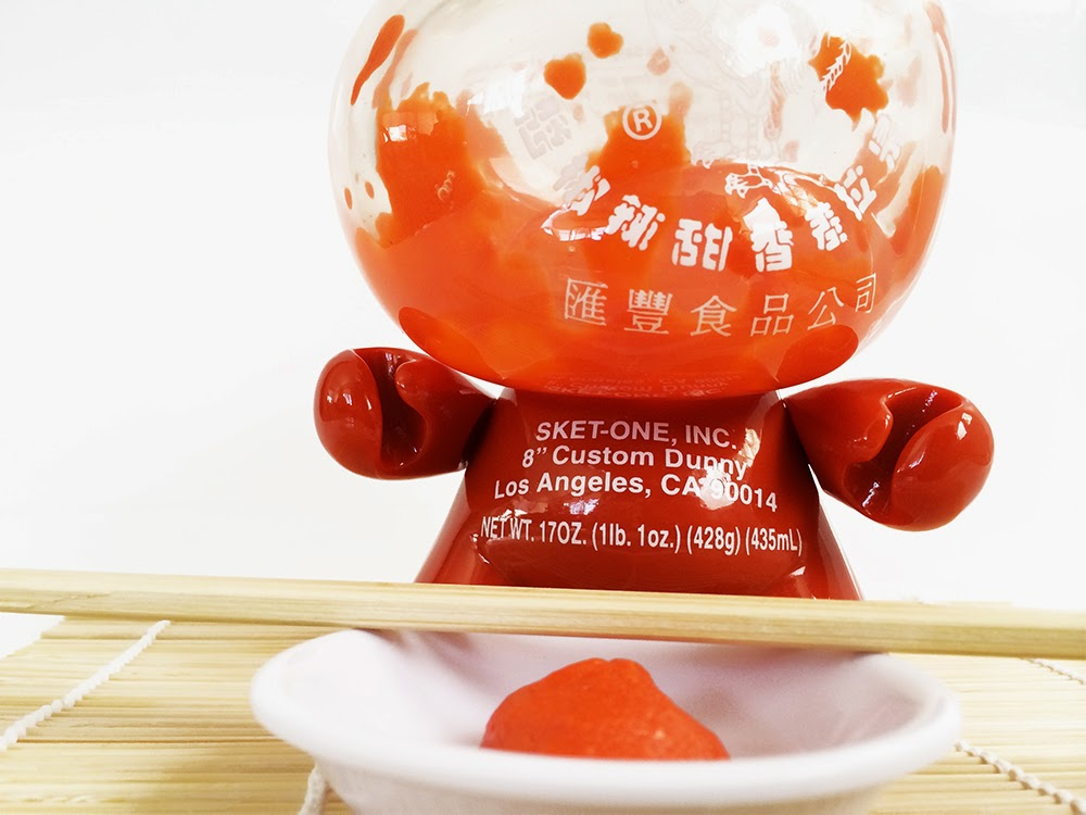 """""""Pass the Sketracha"""" Hot Chili Sauce Custom 8"""" Dunny by Sket-One"""