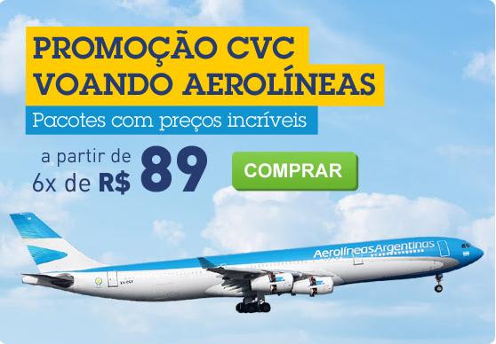 Descubra as cidades da argentina com a promoção da CVC e Aerolineas