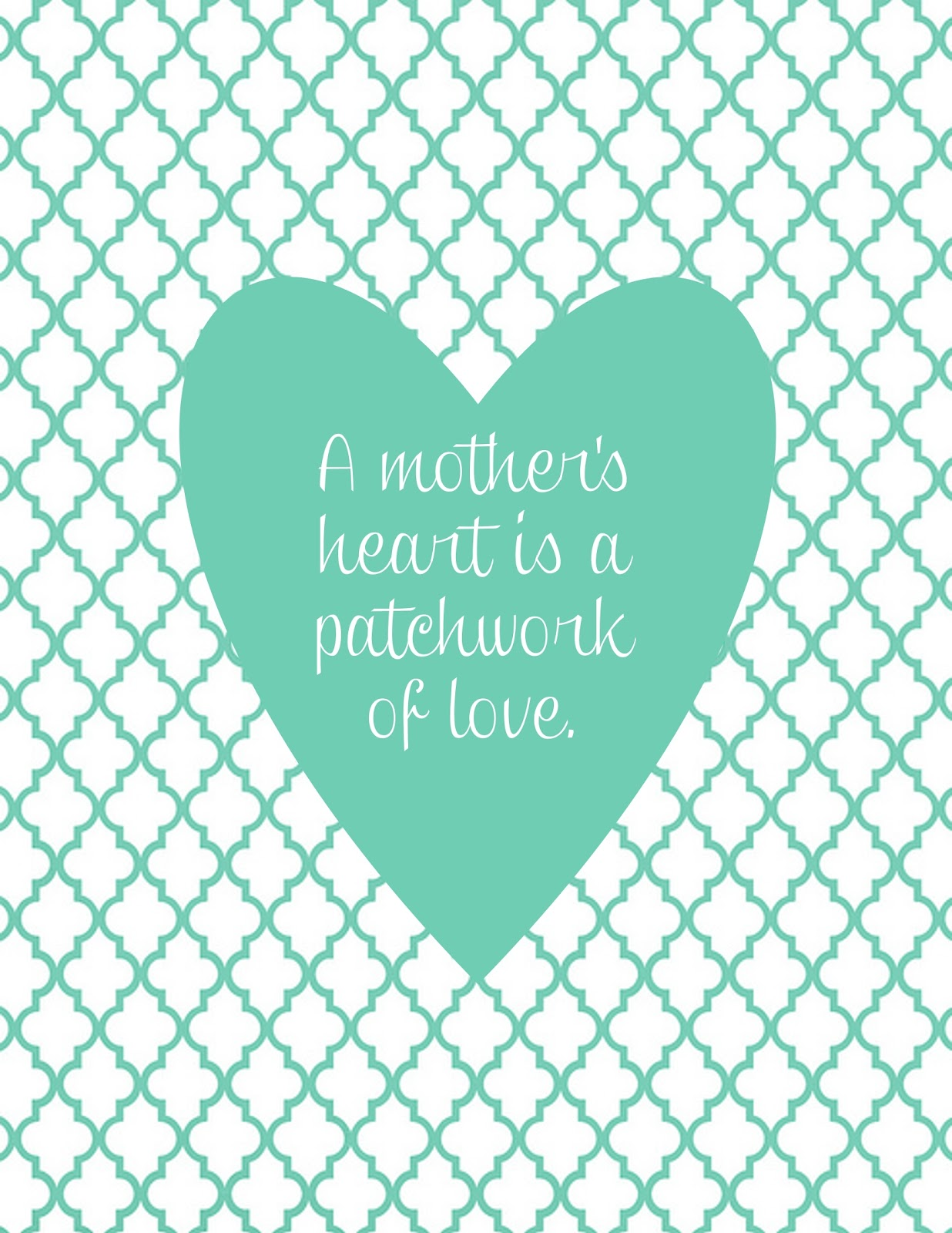 A Mothers Love Quotes 2 A Mother's Heart Printable  Mine For The Making