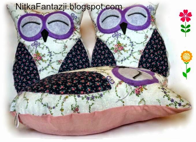 poduszka sowa