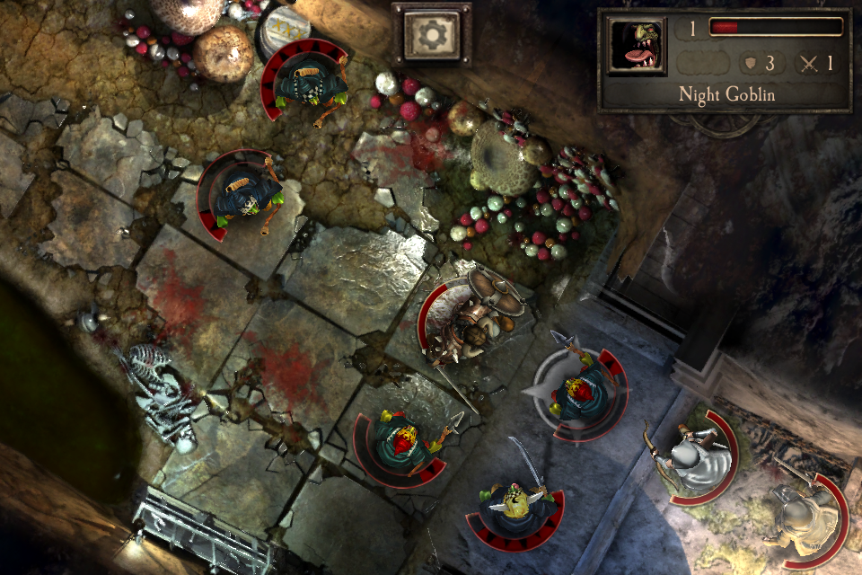 Warhammer Quest iOS review goblins