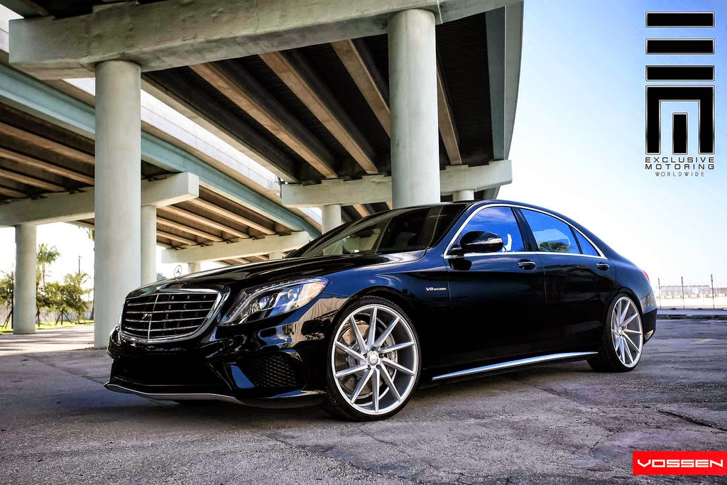 Mercedes benz w222 s63 amg on r22 vossen cvt benztuning for Mercedes benz wheels rims