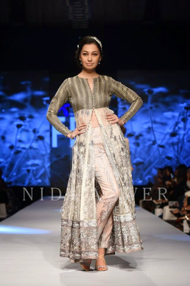 Nida Azwer dresses for summer TPFW 2015