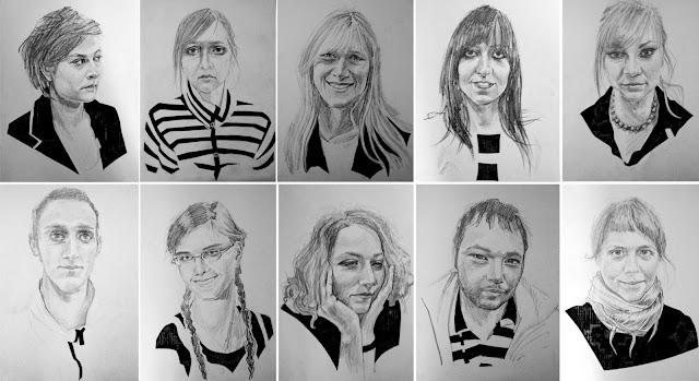 rysunek portret portrety na zamówienie Urbaniak