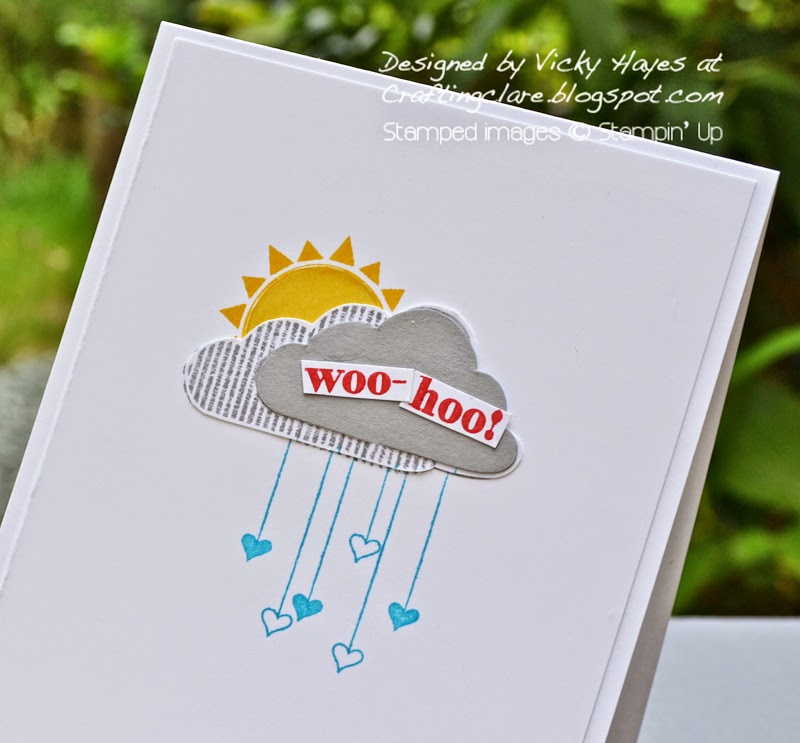 Independent stampin' Up demonstrator Vicky Hayes card making for challenges