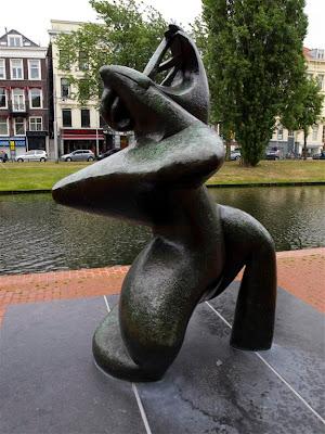 La grande musicienne (Laurens) en Rotterdam