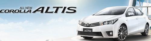 Daftar Harga Mobil Toyota Seri All New Corolla Altis Terbaru