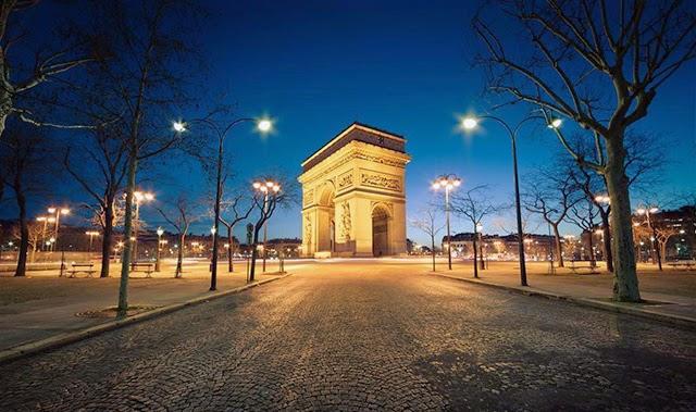 法國巴黎凱旋門旅遊