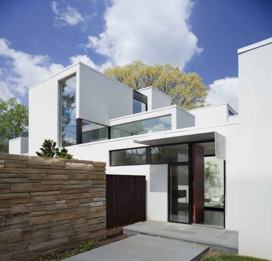 P t sz bels p t sz blog the nice minimalist residence for Modern homes in maryland