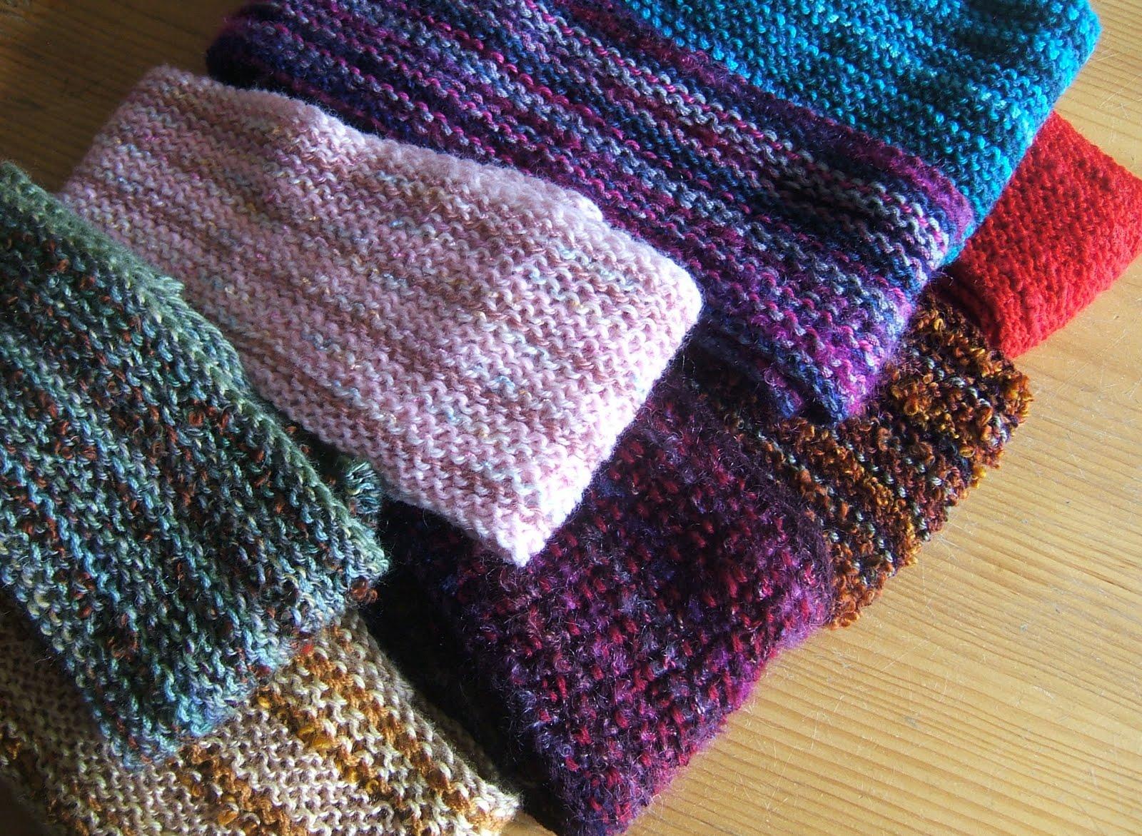 aussie knitting threads landscape scarves