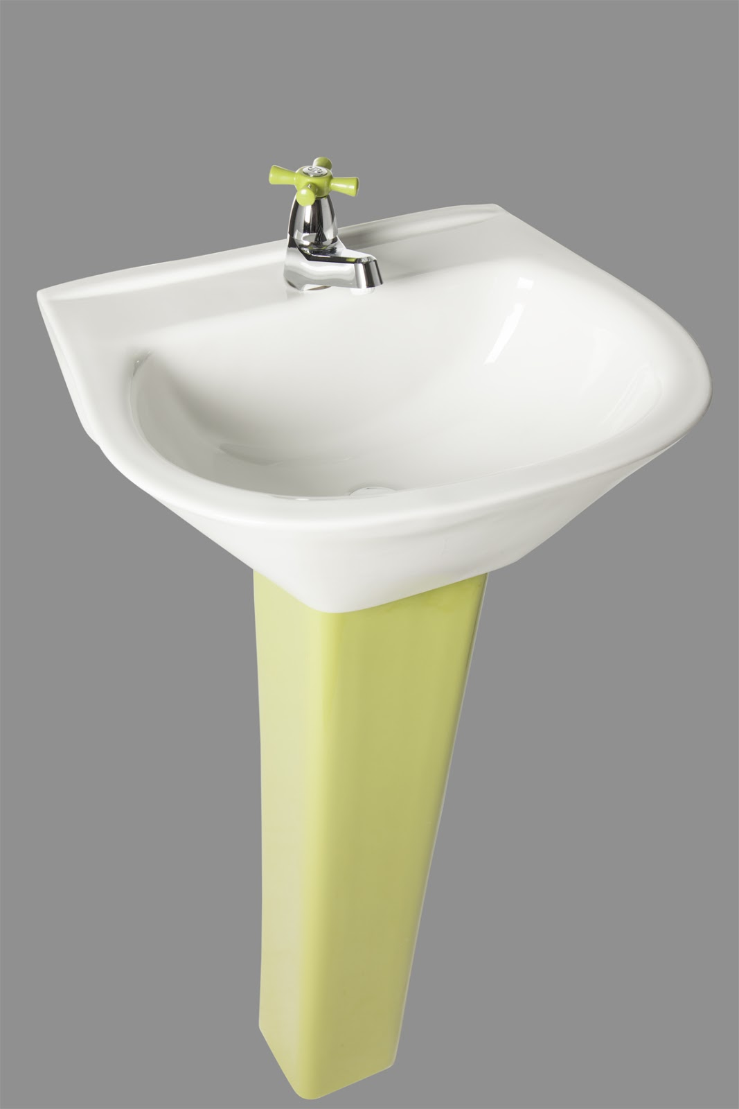 Servidor porcelana sanitaria lavamanos y pedestal bello for Porcelana sanitaria