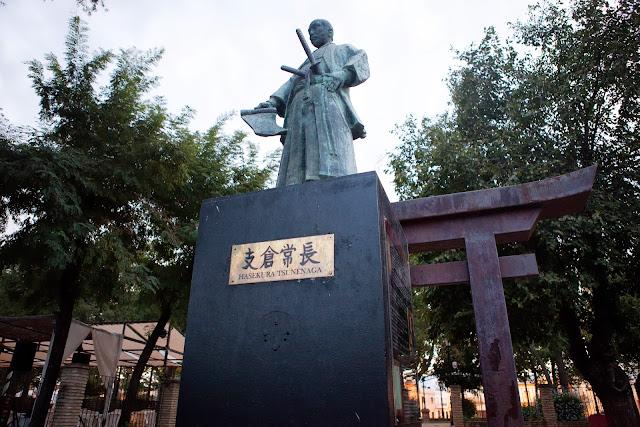 hasekura tsunenaga estatua