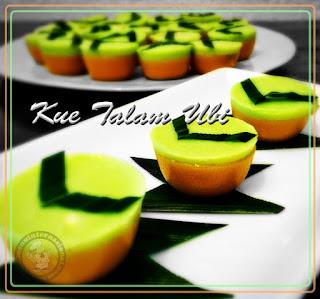Resep Cara Membuat Kue Talam Ubi Lembut Nikmat