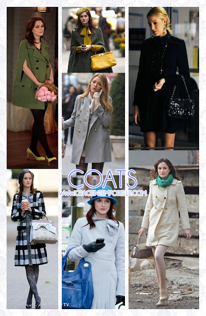 Coats Gossip Girl Grace Intemporelle