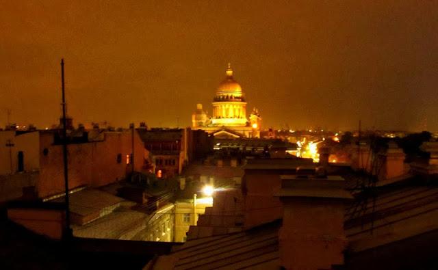 Крыши Петербурга, Исаакиевский собор