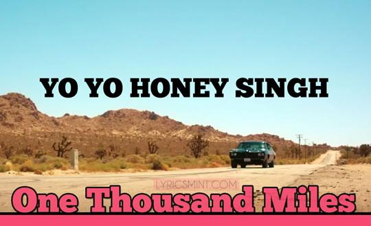 One Thousand Miles