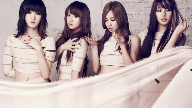 Korea music girls miss A HD Wallpaper