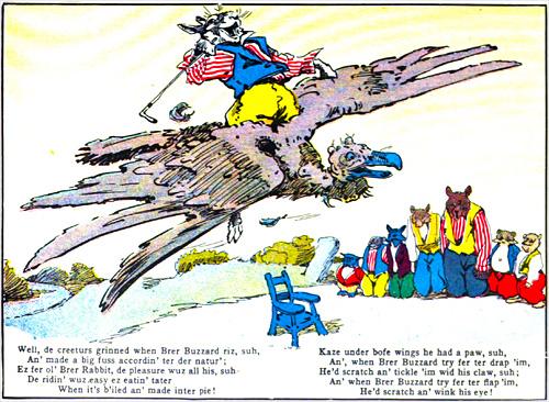 Brer Rabbit's flying trip