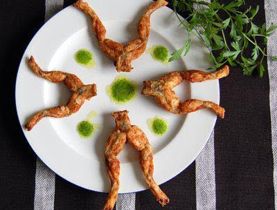 This is not KFC! It is Frog Leg Delicacy