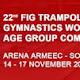 Ευχές για διακρίσεις στους αθλητές που συμμετέχουν με την Εθνική στο 22ο  Παγκόσμιο Πρωτάθλημα Τραμπολίνο