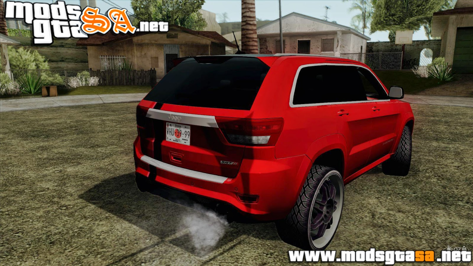 SA - Jeep Grand Cherokee SRT8