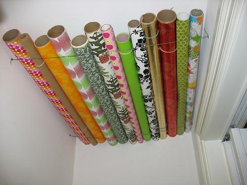 25 gift wrap organization ideas the scrap shoppe