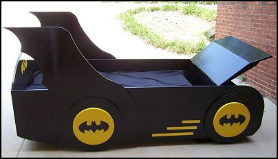 batman bed frame