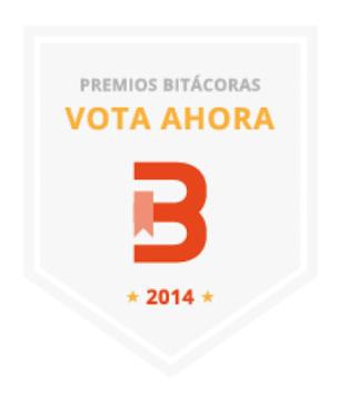 Premios Bitacoras.com 2014