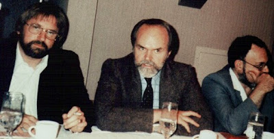 William Moore, Jamie Shandera, and Stanton Friedman (Credit - Antonio Huneeus)