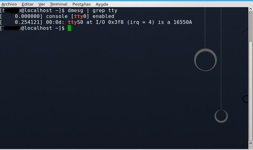 para ver los puertos seriales en Linux