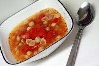 Garbanzo-Tomato-Pasta-Soup