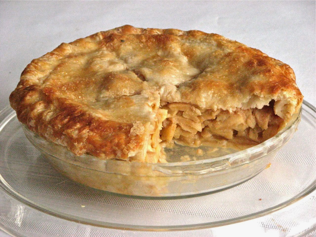 Delectably Mine: Classic Apple Pie
