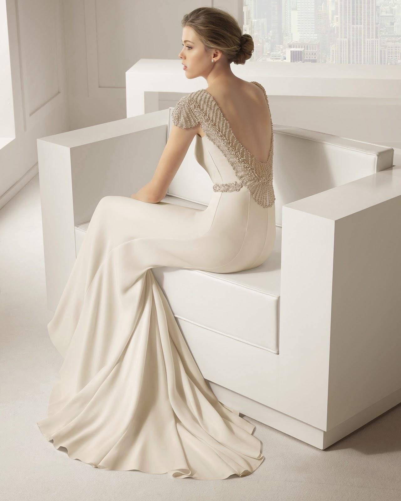 Las bodas de Raquel: Modelo Saboya de Rosa Clará 2015
