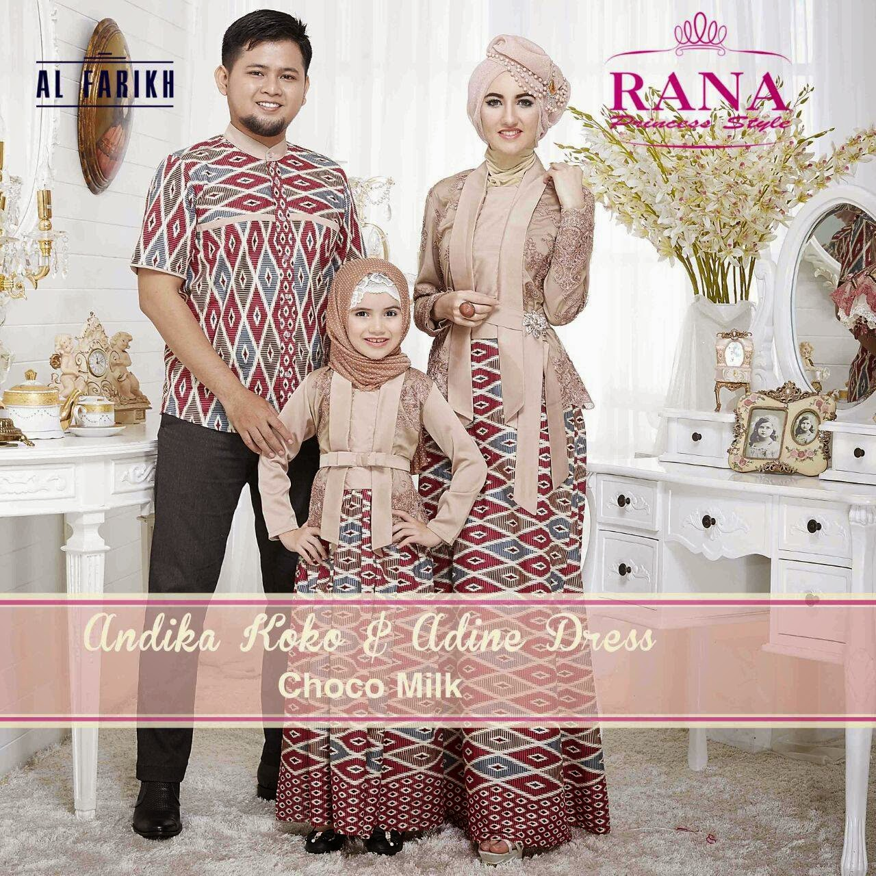 Murah N Ori Collection Koko Andika Dan Setelan Adine By Rana