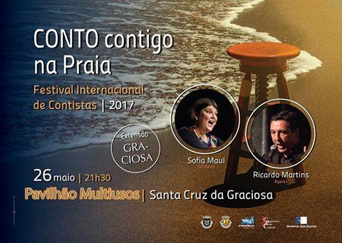 "Festival Internacional de Contistas dos Açores ""Conto Contigo na Praia"" hoje na Graciosa"