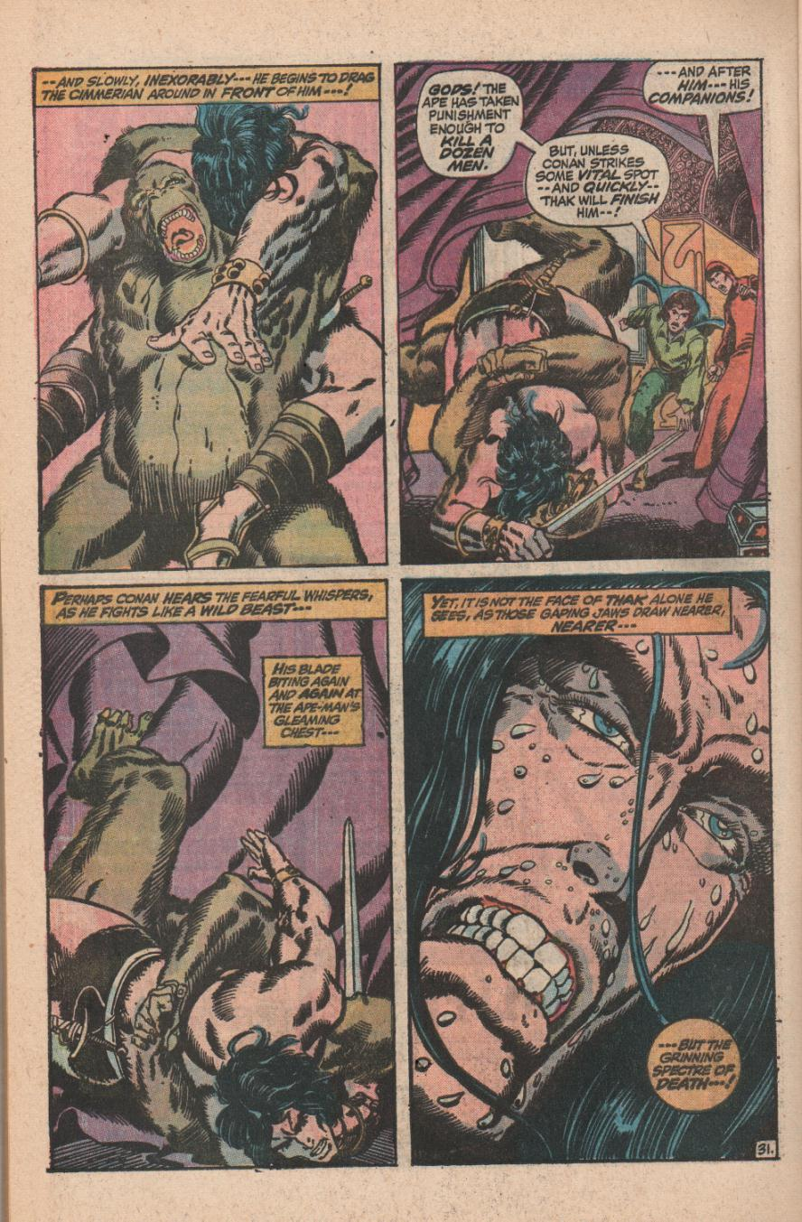 Conan the Barbarian (1970) Issue #11 #23 - English 44