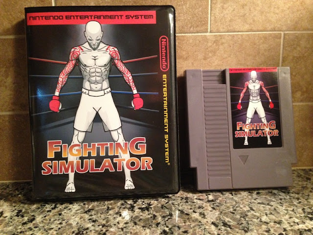 Se ponen a la venta reproducciones de Fighting Simulator World Champ para NES