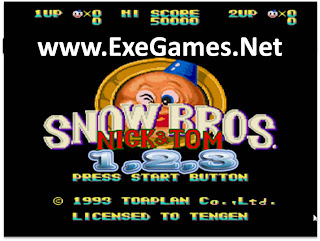 Snow Bros 1 2 3 PC Game Collection