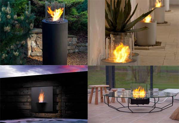 Ideas Outdoor Portable Fireplace Design And Decorating Ideas  Portable Outdoor Fireplace