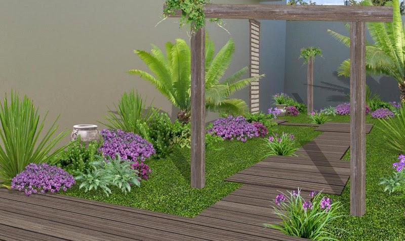 Fotos dise o y decoraci n de jardines y espacios verdes for Diseno jardin mediterraneo