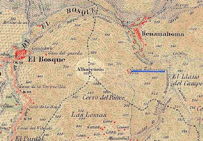 Mapa de Juan Gavala (1917)