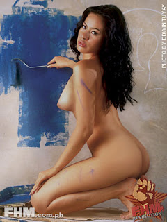 Aleck Bovick Sexy Filipino Actress Sexy Photo In June 2004 FHM 4