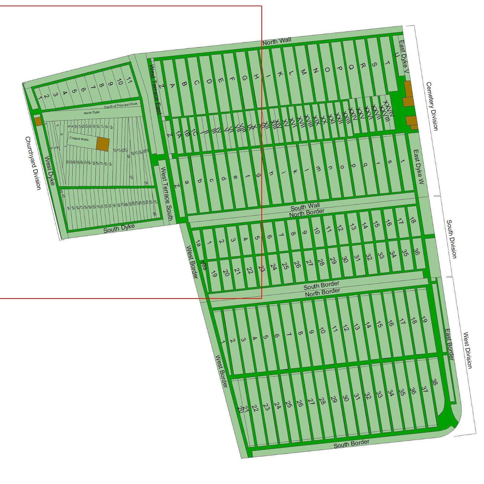 Cemetery Maps Online on