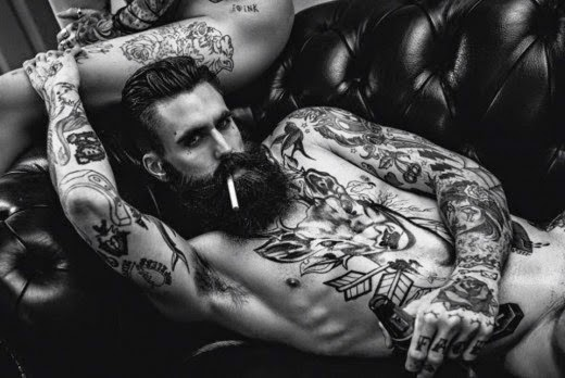 ricki hall body tattoos