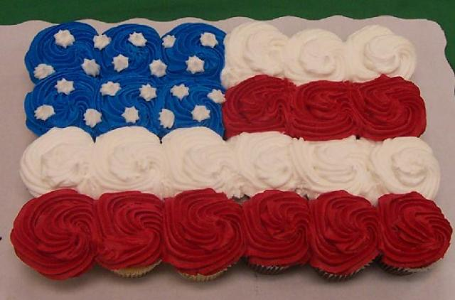 Fourth Of July Cupcakes Ideas