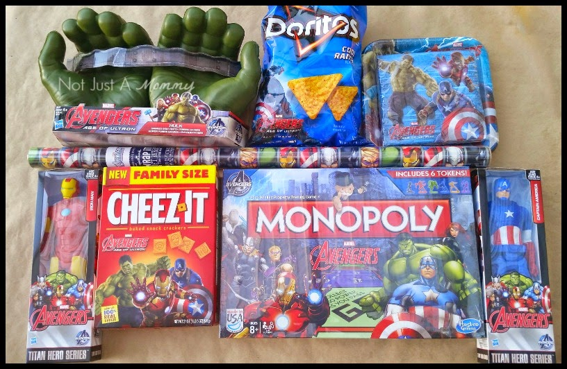 MARVEL Avengers: Age of Ultron Movie Marathon Party themed goods
